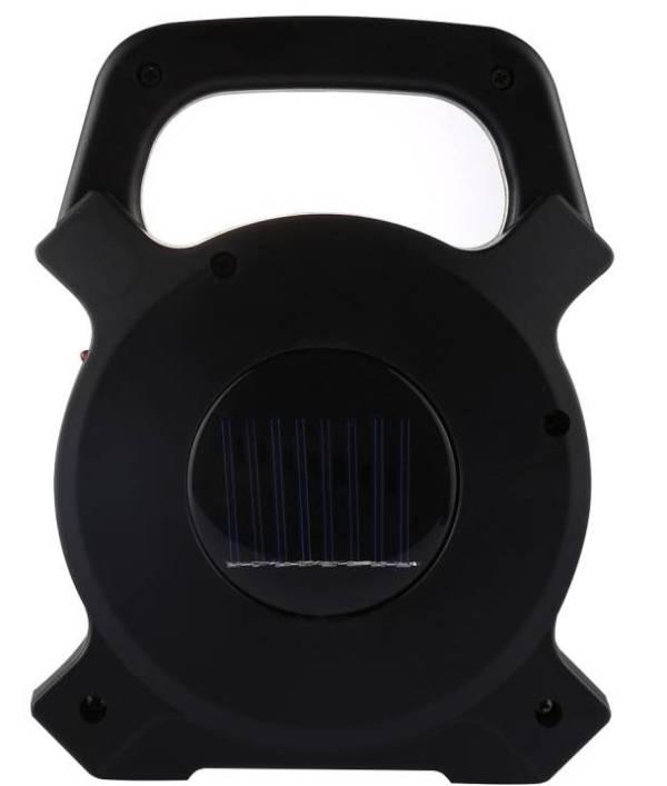Επαναφορτιζόμενος φακός χειρός LED Ηλιακός/USB W815-1