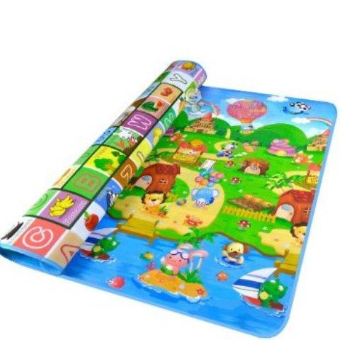 Μεγάλο παιδικό μαλακό ισοθερμικό χαλί δραστηριοτήτων διπλής όψης Playmat