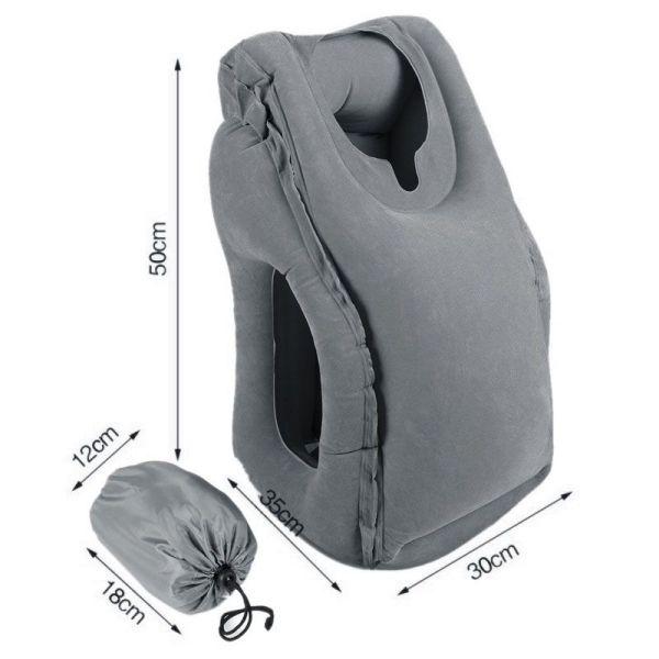 Φουσκωτό πολυλειτουργικό μαξιλάρι ταξιδιού