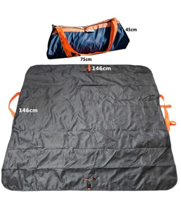 Πολυχρηστικό χαλί εξοχής και τσάντα ταξιδιού