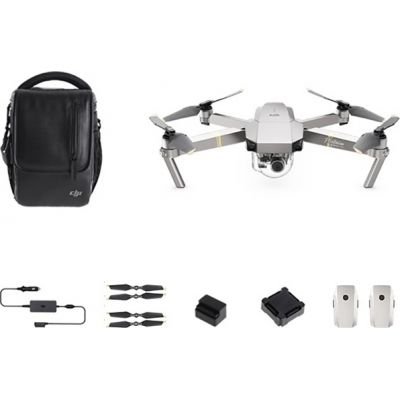 DJI Mavic Pro Platinum Fly More Combo Drone Πληρωμή έως 24 δόσεις