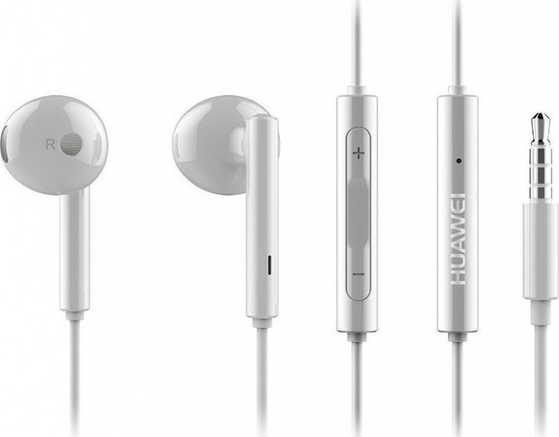 Huawei AM115 3.5mm Stereo Handsfree White Bulk