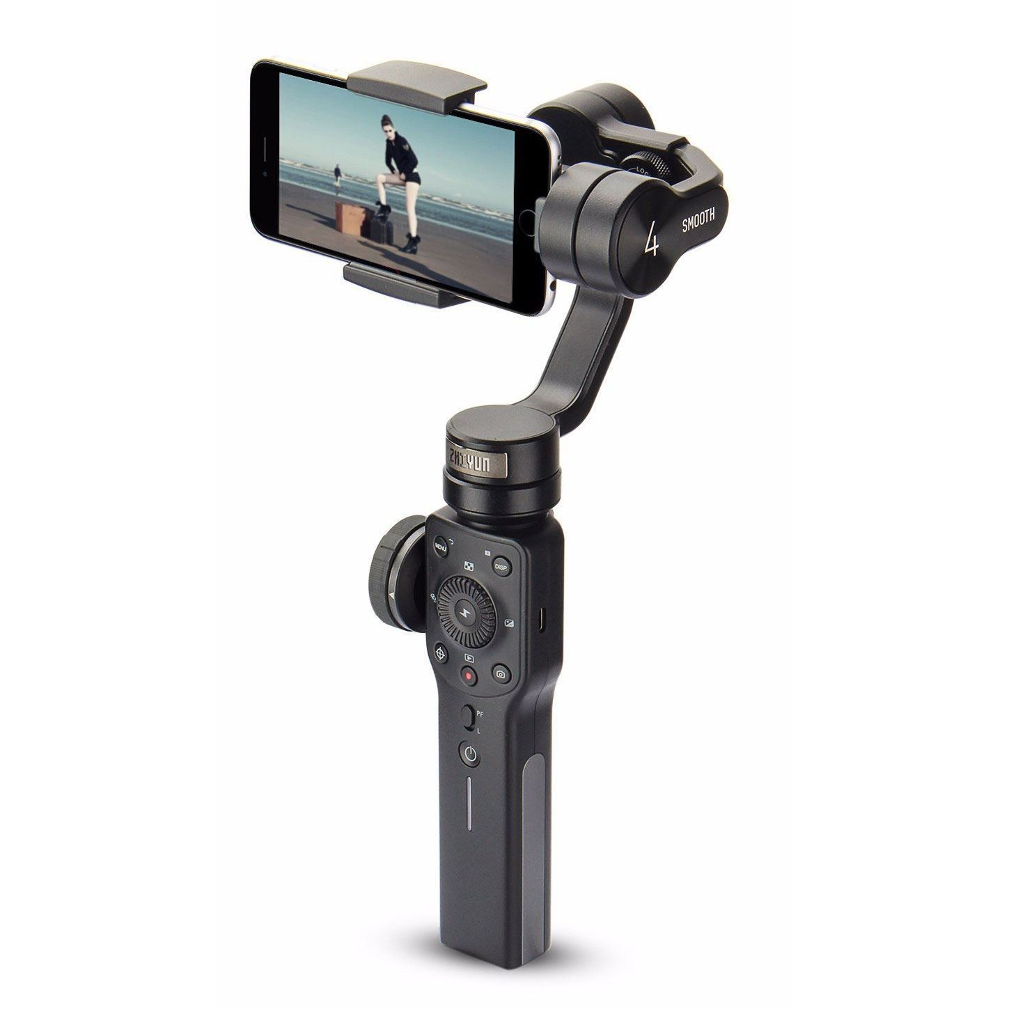 Zhiyun Smooth 4 3-Axis Handheld Gimbal Stabilizer Black