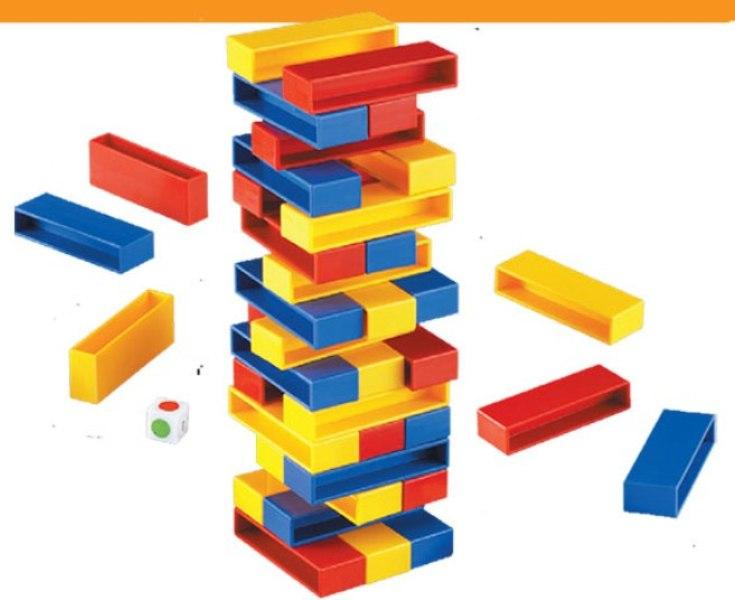 Πολύχρωμος πύργος ισορροπίας