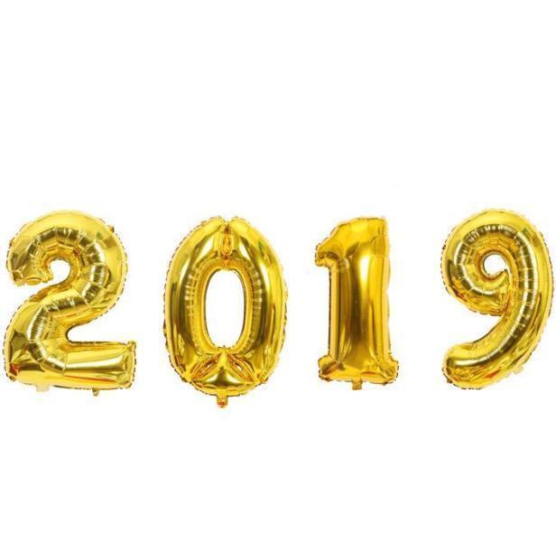 Μπαλόνια 2019 με βαλβίδα κλεισίματος