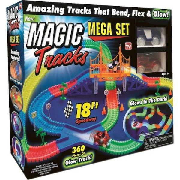 Αυτοκινητόδρομος 360 τεμαχίων και αυτοκινητάκια με φως - Mega Set