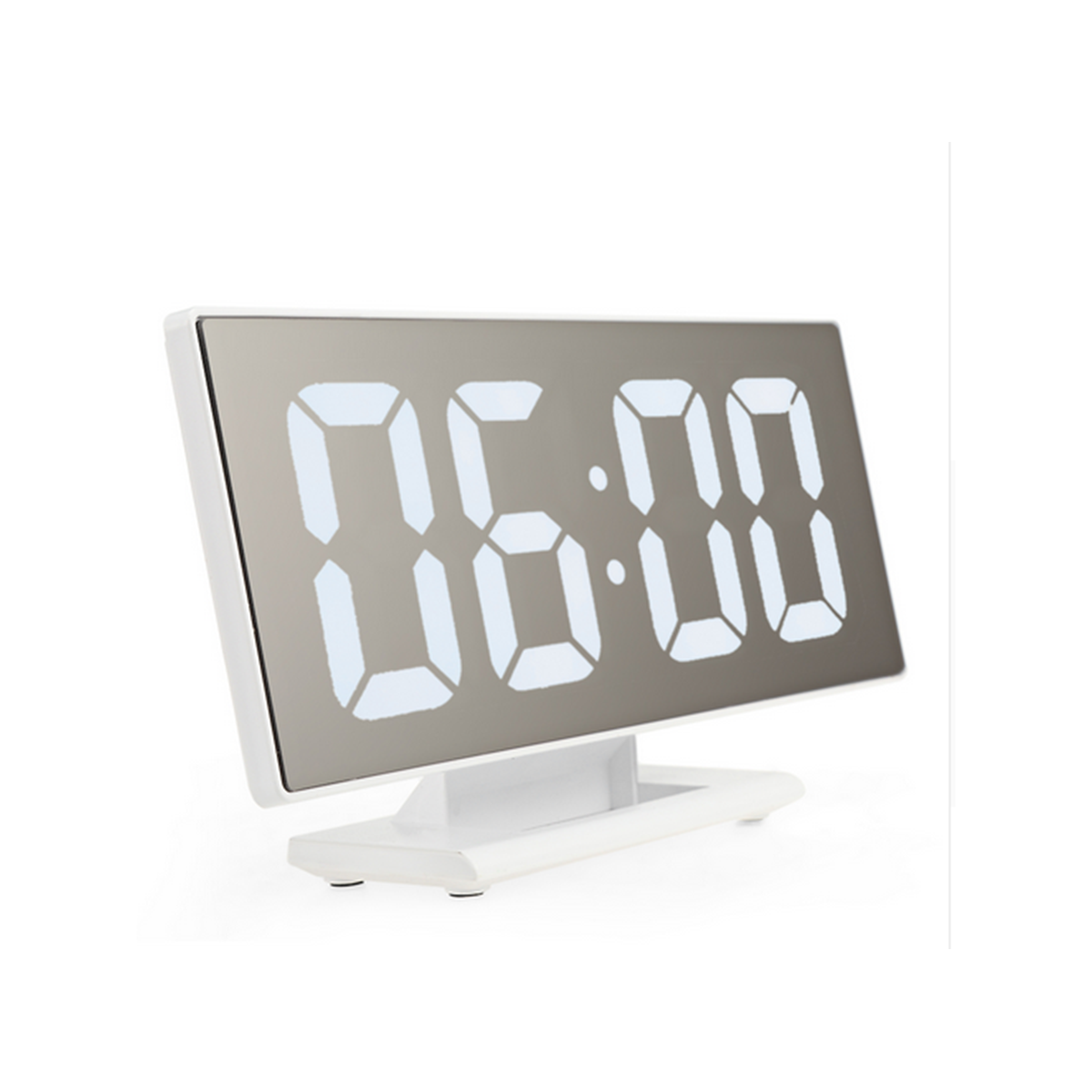 Εντυπωσιακό Ψηφιακό Επιτραπέζιο Ρολόι/Ξυπνητήρι με Μεγάλη Οθόνη Καθρέφτη