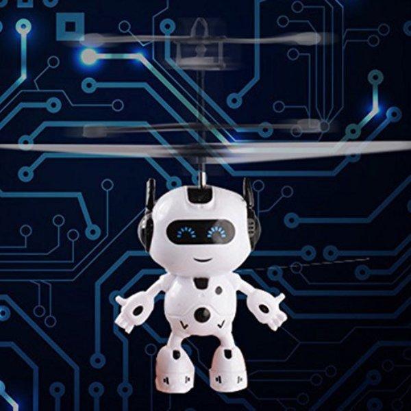 Επαναφορτιζόμενο ιπτάμενο ρομπότ - Ελικοπτεράκι
