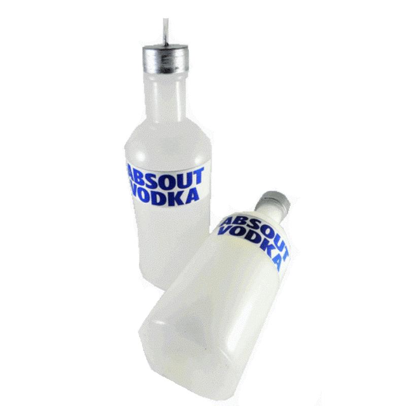 Χειροποίητη Λαμπάδα Μπουκάλι Βότκα