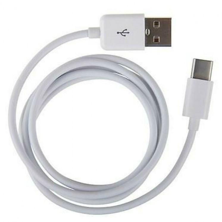 Καλώδιο Samsung Regular USB 2.0 Cable USB-C male - USB-A male 1.5m EP-DW700CWE White Bulk