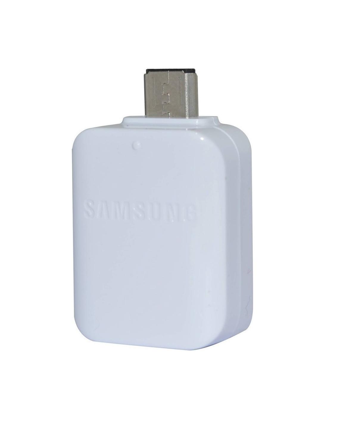 Αντάπτορας Samsung micro USB male - USB-A Female EE-UG930 GH96-09728A White Bulk