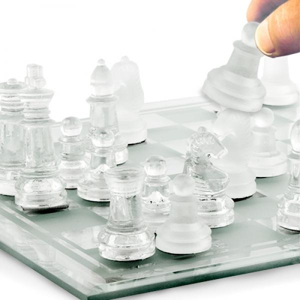 Γυάλινο Σετ Σκάκι Small