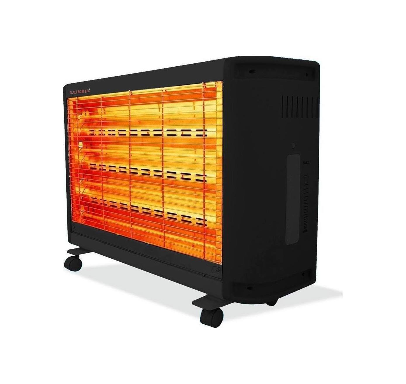 Ηλεκτρική Θερμάστρα Χαλαζία 2400W LUXELL LX-2811-4 (Πληρωμή έως 24 δόσεις)