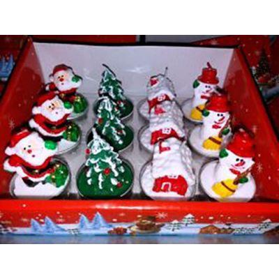 Χριστουγεννιάτικα Κεράκια Ρεσώ Σετ 12 Τεμαχίων Νο4 OEM 3222