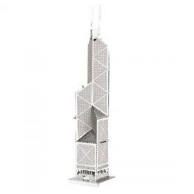 """Μίνι Τρισδιάστατο Μεταλλικό Πάζλ """"Bank Of China Tower"""" OEM 3263"""