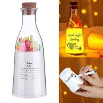Μπουκάλι Ευχών Επαναφορτιζόμενο LED OEM 3279