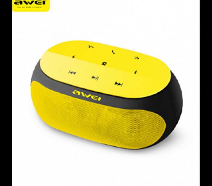 Mini HiFi ασύρματο ηχείο Bluetooth Multimedia Player, Speaker, Handsfree AWEI Y200 Κόκκινο