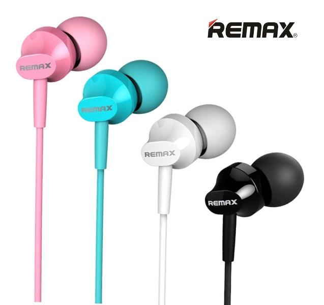 Ακουστικά Κινητού Remax 501 Με Μικρόφωνο Λευκό