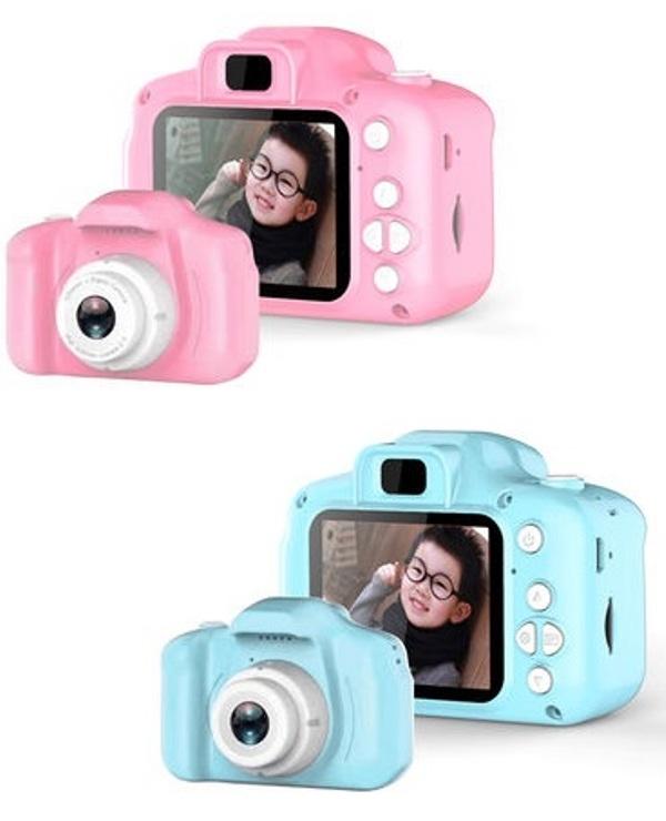Παιδική Ψηφιακή Φωτογραφική Μηχανή 1080P ΡΟΖ ΟΕΜ 336