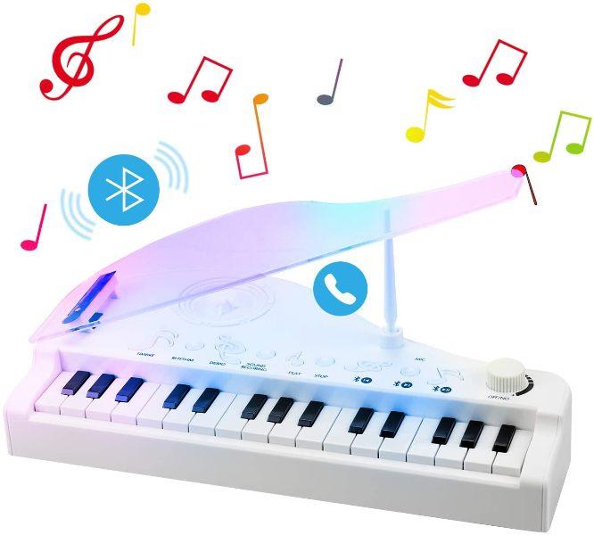 Ηλεκτρονικό Πολυλειτουργικό Μίνι Πιάνο Με 31-Πλήκτρα Bluetooth