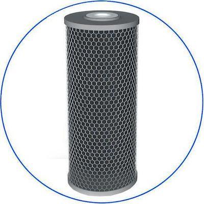 "Big Blue 10"" X 4,5"" Φίλτρο Συμπαγούς Ενεργού Άνθρακα Silver Series FCCBL-S10BB FCCBL-S 10BB"