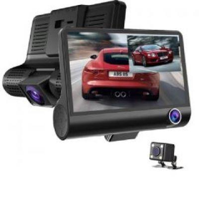 Σύστημα τριπλής καταγραφής αυτοκινήτου DVR Full HD 1080p WDR