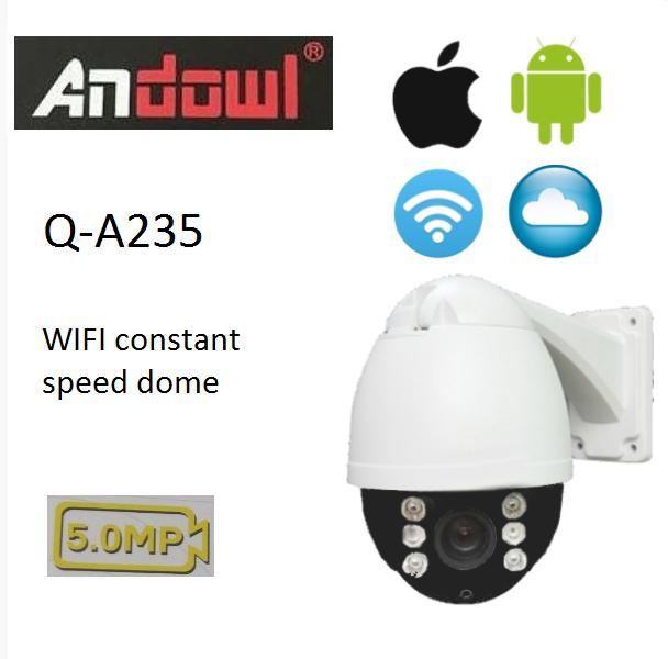 Επιτοίχια ασύρματη κάμερα καταγραφής 5MP Q-A235 ANDOWL