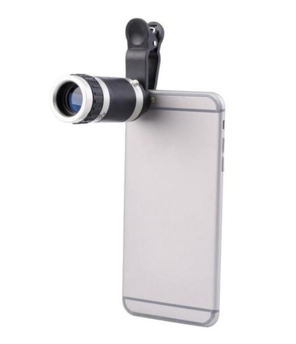 Σετ τηλεσκόπιο και φακοί για κάμερα κινητού με κλιπ