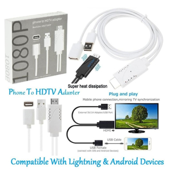 Phone to HDTV Adapter