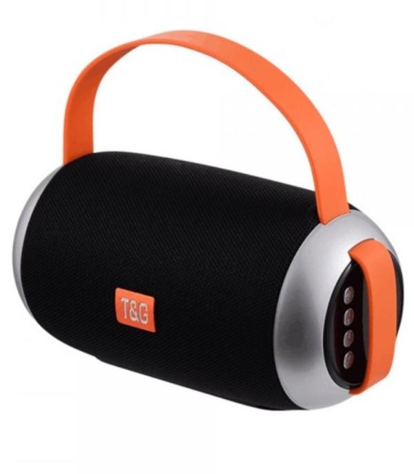 Φορητό, επαναφορτιζόμενο ηχείο Bluetooth TG112-ΜΑΥΡΟ