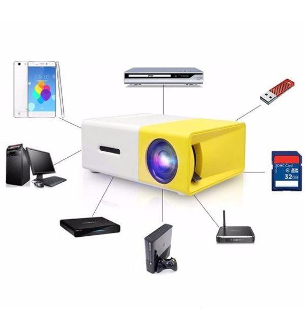 Προτζέκτορας LED HD 600 LUMENS YG 310