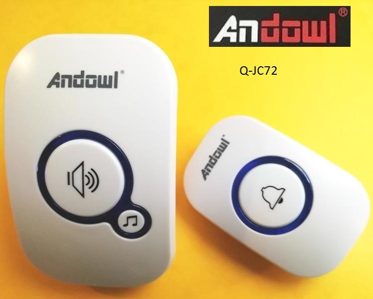 Έξυπνο ασύρματο κουδούνι πόρτας Q-JC72 ANDOWL