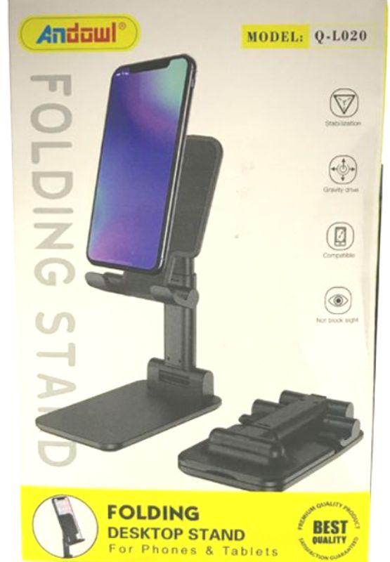 Αναδιπλούμενη επιτραπέζια βάση για τηλέφωνα και tablet Q-L020 ANDOWL