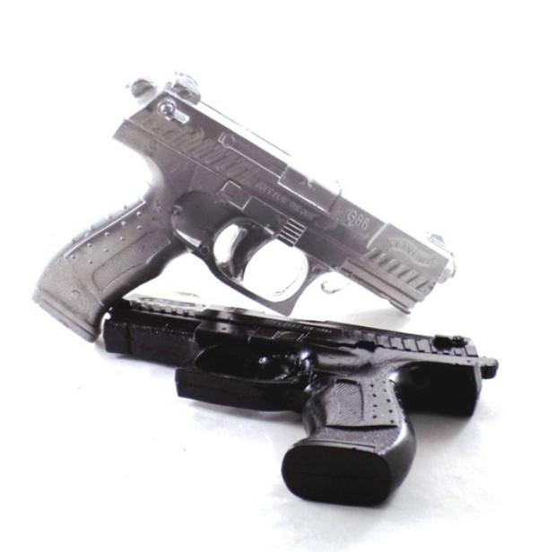 Χειροποίητη λαμπάδα  όπλο