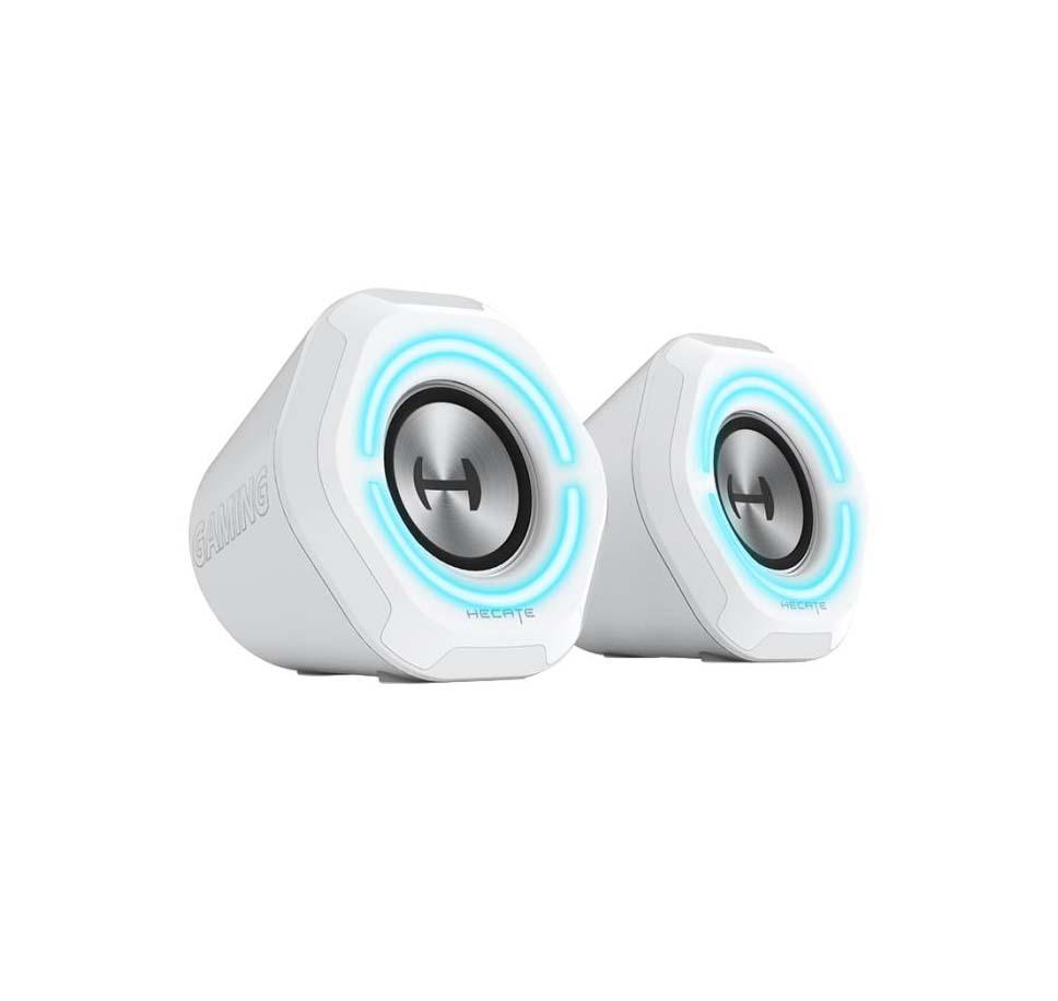 Edifier G1000 Ηχεία RGB Bluetooth 10W White