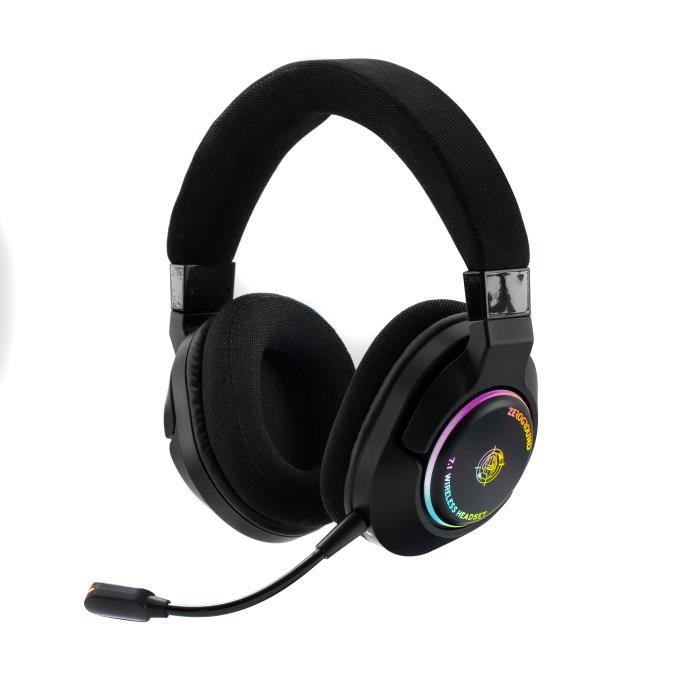 Zeroground HD-3600WG AKASHI Ασύρματο Gaming Headset 3.5mm/Usb