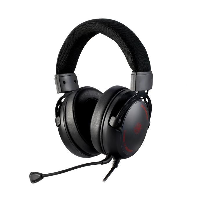 Zeroground HD-3300G IKEDA v2.0 Over Ear Gaming Headset 3.5mm/Usb