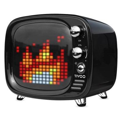 DIVOOM Tivoo Retro Mini Bluetooth Ηχείο Με Γραφικά Black