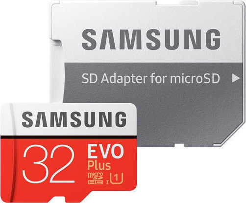 Samsung Evo Plus microSDHC 32GB U1 with Adapter MB-MC32GA/EU