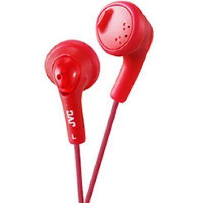 JVC HA-F160-R Earbuds Raspberry Red