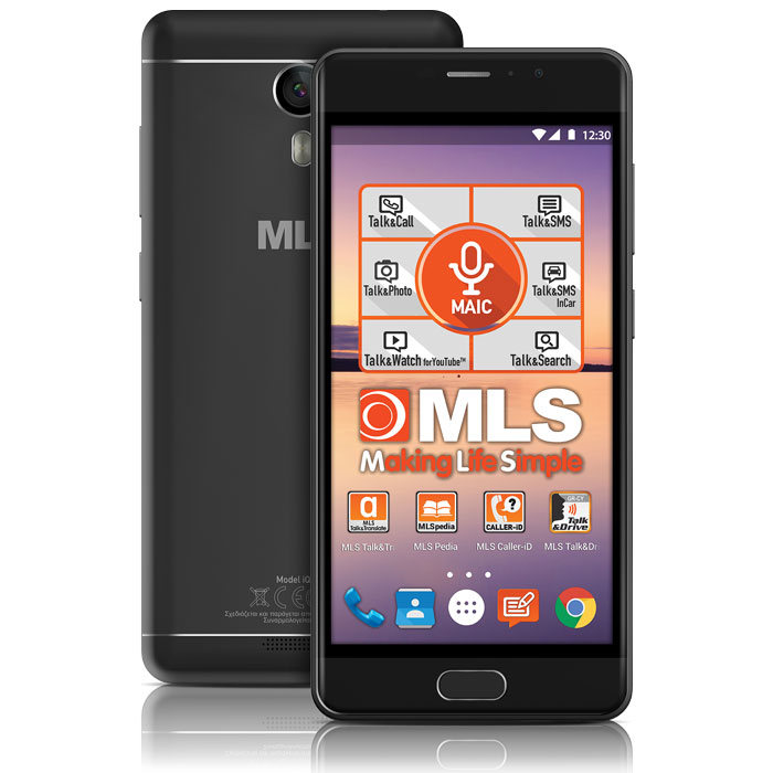 MLS MX 4G BLACK DUAL SIM