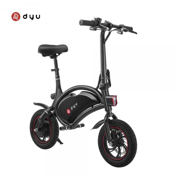 Ηλεκτρικό Ποδήλατο DYU D1F Standard 6Ah Μαύρο