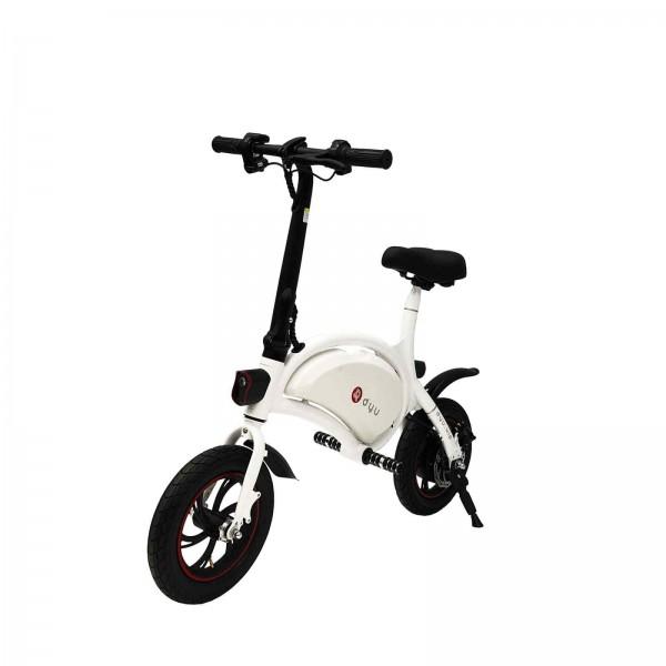 Ηλεκτρικό Ποδήλατο DYU D1F Standard 6Ah Λευκό