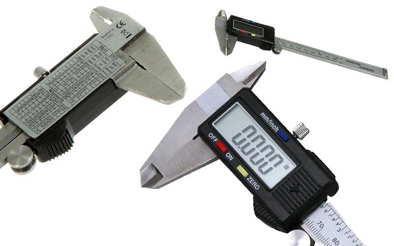 """Ηλεκτρονικό ψηφιακό παχύμετρο ακριβείας - 150mm (6"""") - OEM 18620"""