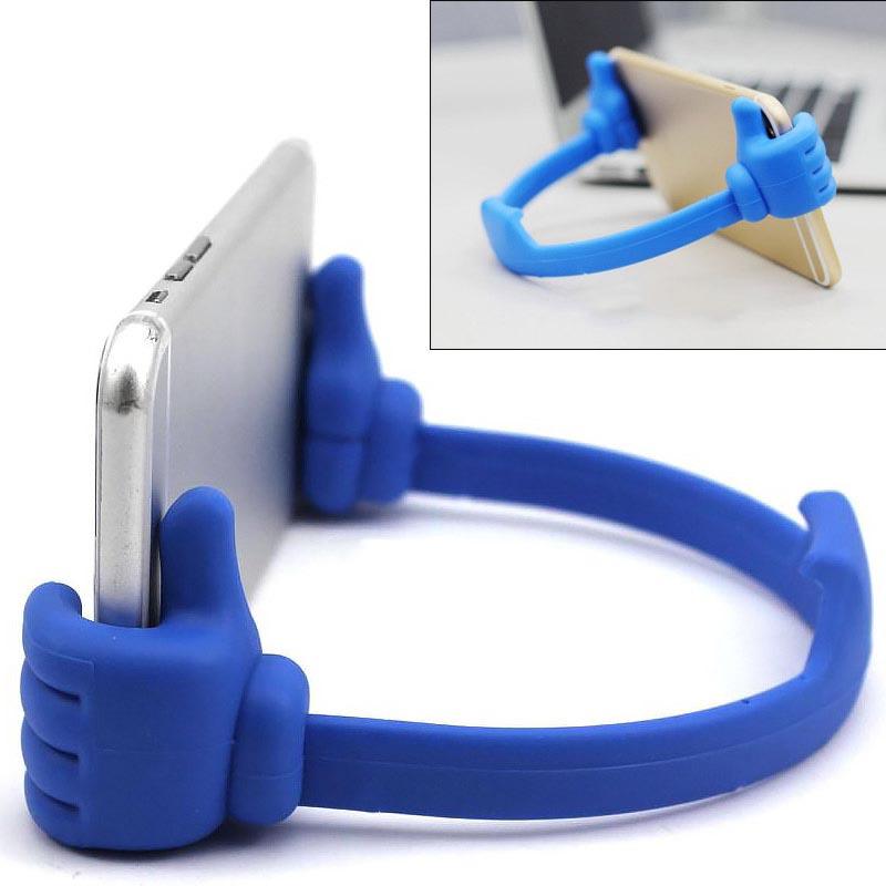 Bάση στήριξης - χεράκια για κινητά και tablets στο γραφείο ή το σπίτι - Hi-Tech 18845 [Ροζ]