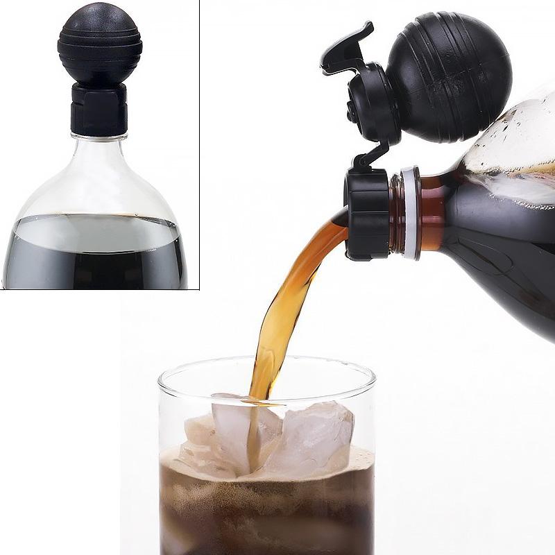 Βαλβίδα ασφαλείας για τη βέλτιστη διατήρηση ανθρακούχων αναψυκτικών και ποτών - ΟΕΜ21697 Pump and Pour Fizz Keeper