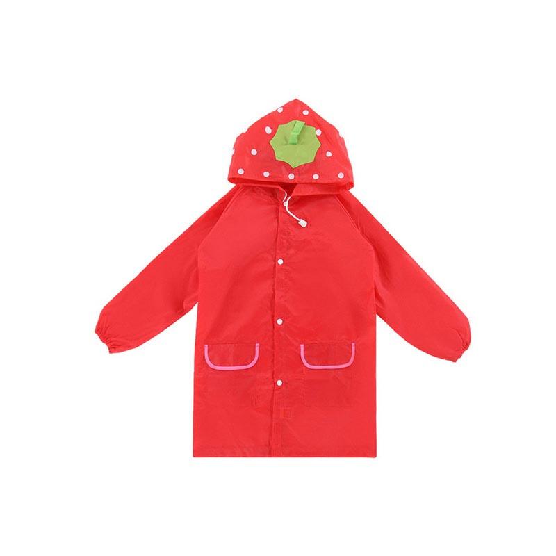 Παιδικό αδιάβροχο σε 4 σχέδια - Rain Coat for Children - OEM 22982 [Κόκκινο]