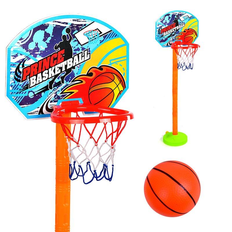 Παιδική μπασκέτα με επιδαπέδια βάση και ρυθμιζόμενο ύψος - 98cm - Jinbao Toys 24170