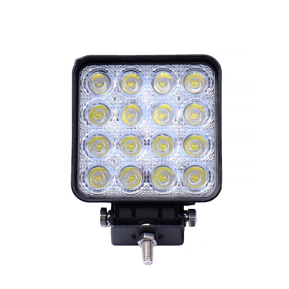 Αδιάβροχος προβολέας CREE LED 48W με ψυχρό φως - OEM 25036