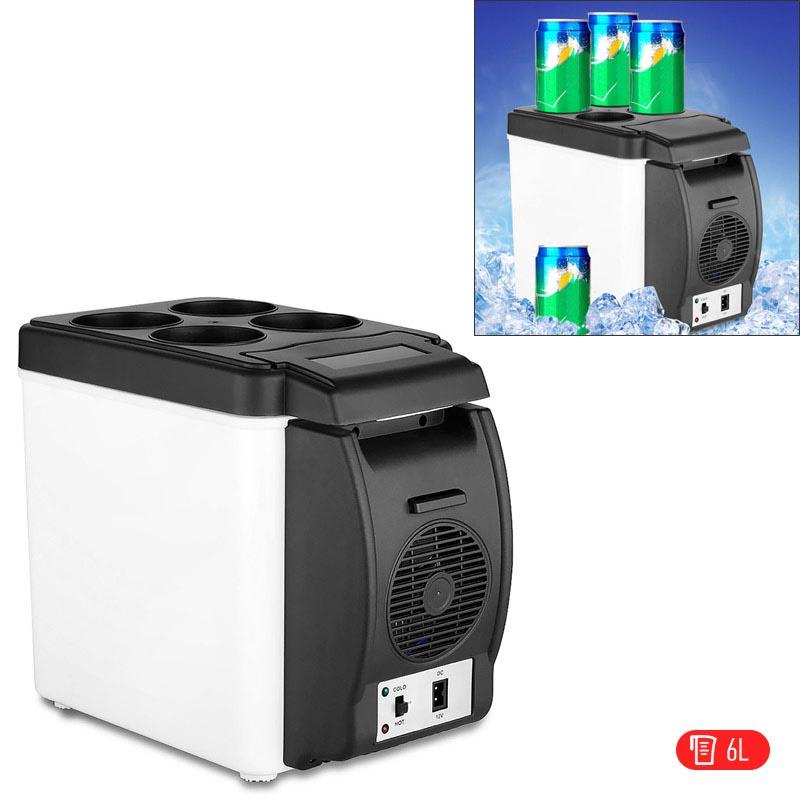 Ηλεκτρικό φορητό ψυγείο ψύξης και θέρμανσης 6L/12V για αυτοκίνητο/σκάφος - ΟΕΜ 25075